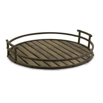 Slatted Wood Tray