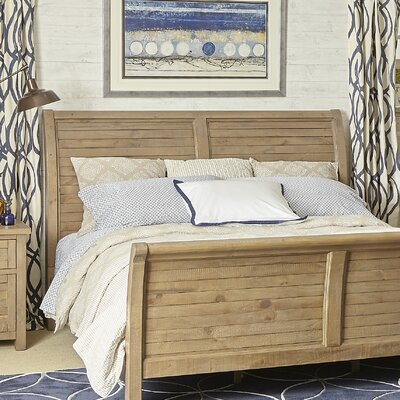 Cannes Sleigh Headboard Size: King