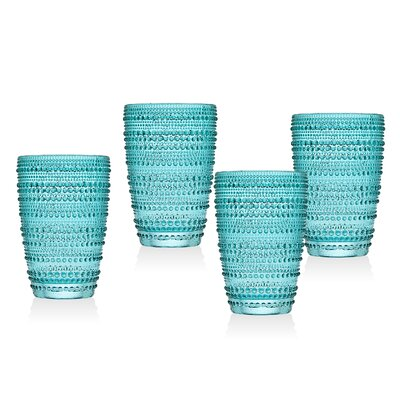 Gillingham Highball Glasses Color: Teal