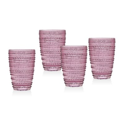 Gillingham Highball Glasses Color: Pink