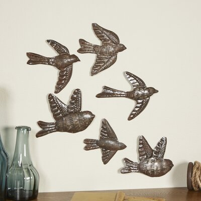 Flock of Swallows Wall Decor (Set of 2)