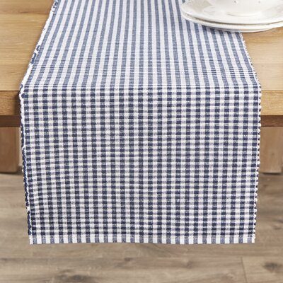 Harrogate Runner Color: Dress Blue, Size: 13x72