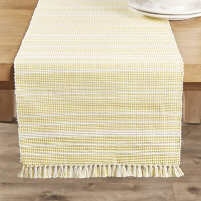 Guildford Runner Color: Lemon Drop, Size: 13x72