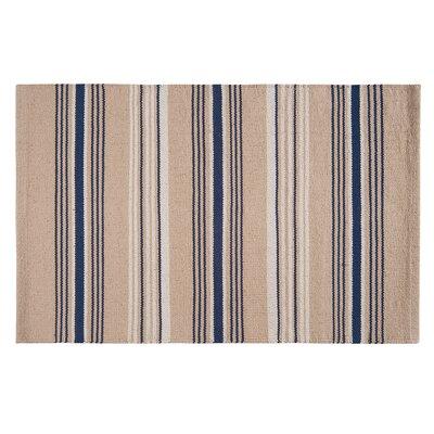 Davey Blue Area Rug Rug Size: 3 x 5