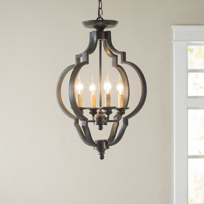 Enthoven 4 Light Semi Flush Mount