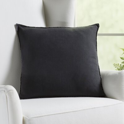 Vann Linen Pillow Color: Smoke