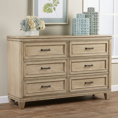 Grace 6 Drawer Double Dresser