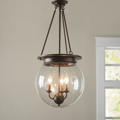 Durrell Globe Pendant Finish: Oiled Burnished Bronze