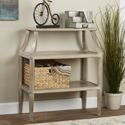 Martiques Console Table Finish: Driftwood