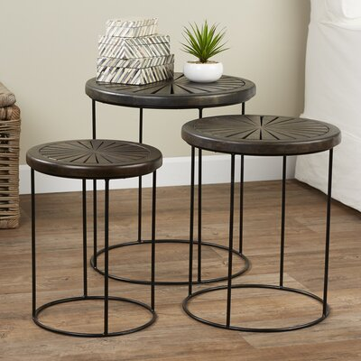 Ostlund 3 Piece Nesting Tables