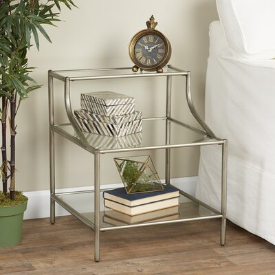 Slide Two Tier End Table