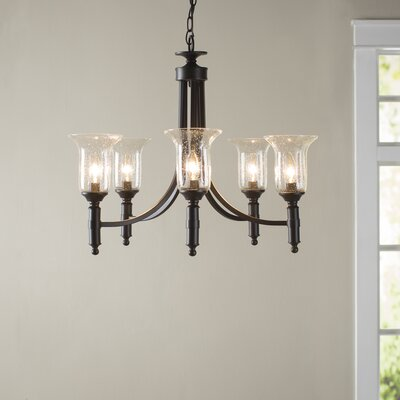 Doddridge 5-Light Shaded Chandelier