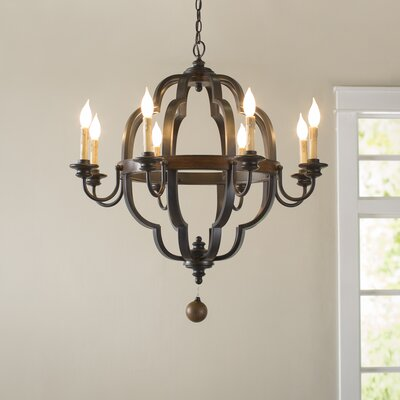 Enthoven 8-Light Candle-Style Chandelier