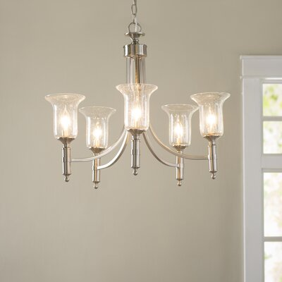 Marcet 5-Light Shaded Chandelier