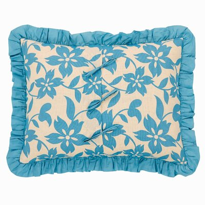 Kim Quilted Sham Size: Luxury, Color: Azure