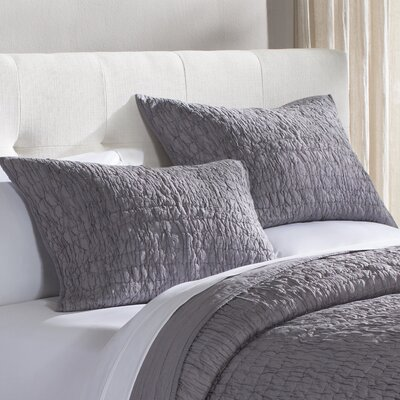 Rochelle Bedding Collection Size: Twin, Color: Grey