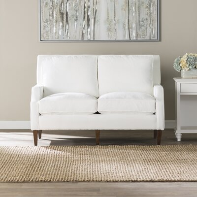 Sandringham Loveseat Upholstery: Spinnsol Natural