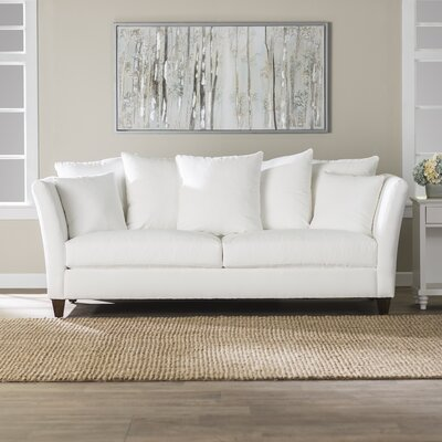 Althorp Upholstered Sofa Upholstery: Classic Bleach White