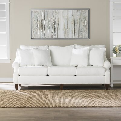 Normanson Sofa Upholstery: Classic Bleach White