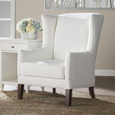 Wolfarth Chair Upholstery: Classic Bleach White