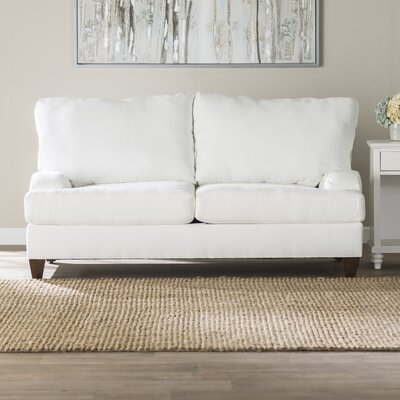 Jutson Loveseat Upholstery: Microsuede Oyster