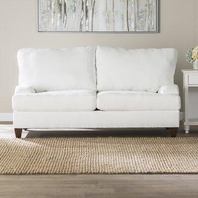 Jutson Loveseat Upholstery: Lizzy Linen