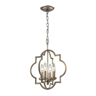 Hartley Pendant Finish: Aged Silver