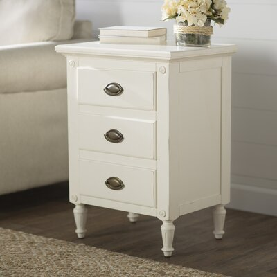 Sargasso Nightstand Color: White