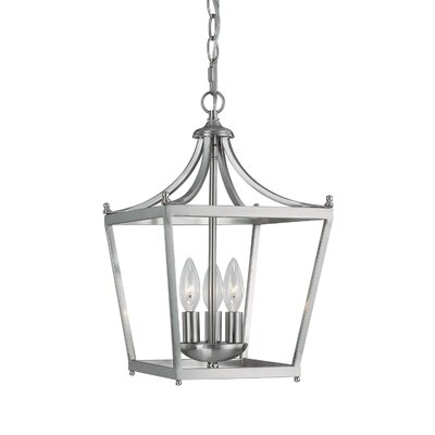 Huntwood Pendant Finish: Brushed Nickel