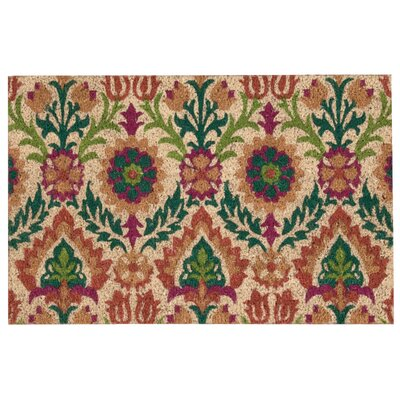 Andres Terra Welcome Doormat Rug Size: Rectangle 16 x 24