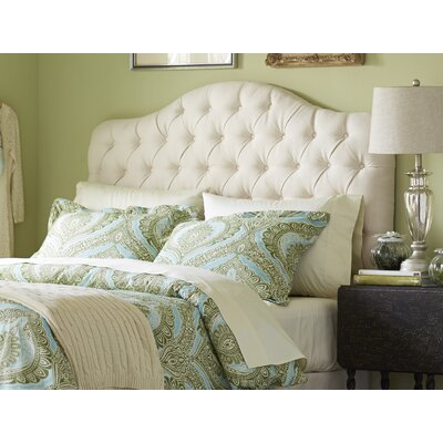 Blanchard Upholstered Headboard Size: Full / Queen, Upholstery: Ivory