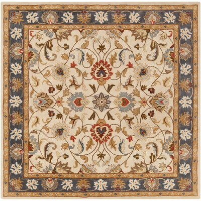 Arden Parchment Rug Rug Size: Square 8