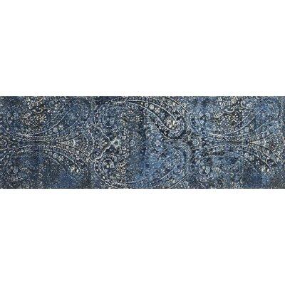Jude Cobalt Rug Rug Size: Runner 27 x 8