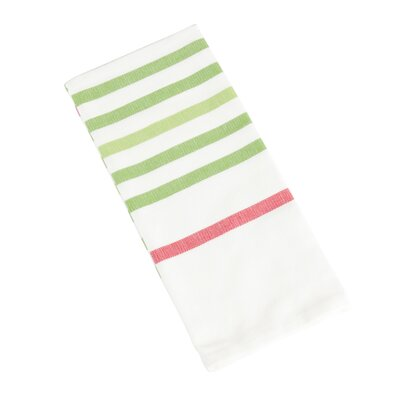 Ryann Striped Kitchen Towel Color: Grass
