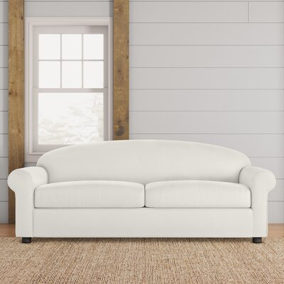 Possibilities Sofa Upholstery: Classic Bleach White