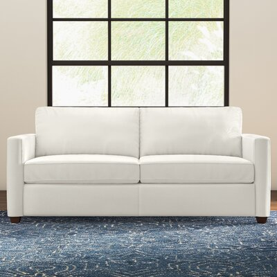 Kate Sofa Upholstery: Classic Bleach White