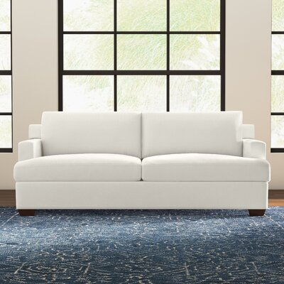 Karalynn Sofa Upholstery: Microsuede Oyster