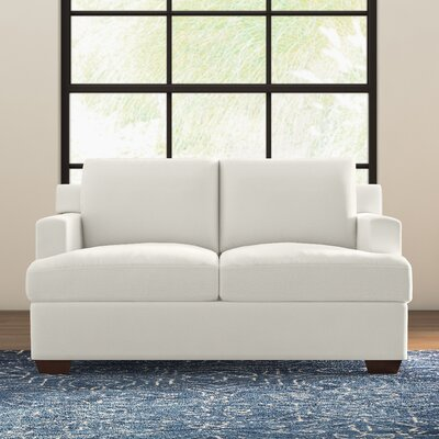 Karalynn Loveseat Upholstery: Godiva Putty