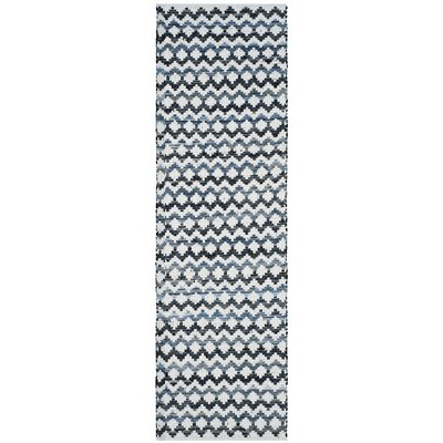 Layne Hand-Woven Cotton Area Rug Rug Size: Runner 23 x 8