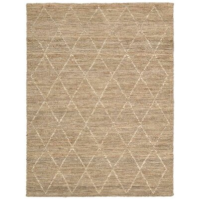 Cordell Handmade Brown Area Rug Rug Size: Rectangle 8 x 10