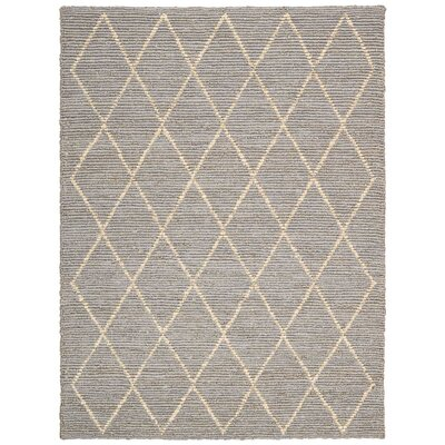 Cordell Handmade Gray Area Rug Rug Size: Rectangle 8 x 10