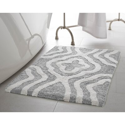 Maureen Bath Mat Color: Gray