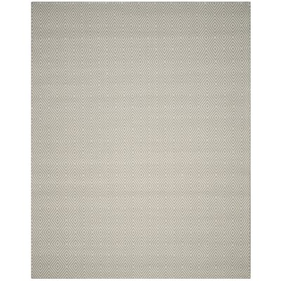 Kris Light Gray Rug Rug Size: Rectangle 9 x 12