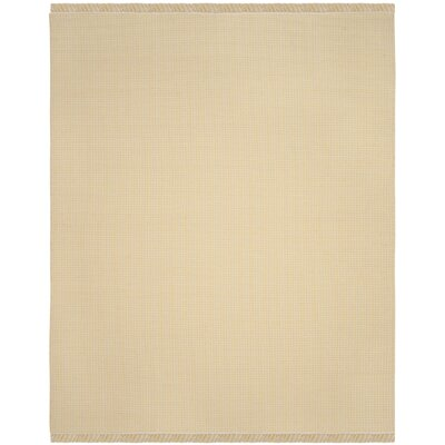 Iggy Hand-Woven Yellow Area Rug Rug Size: Rectangle 9 x 12