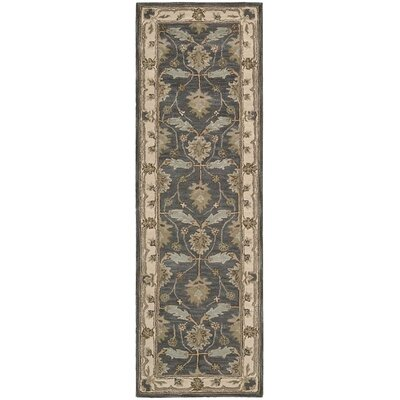 Constance Hand-Tufted Blue Area Rug Rug Size: Runner 2'3