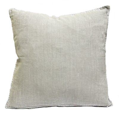 Vann Linen Pillow Color: Fog