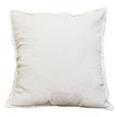 Hardman Linen Pillow Color: Ivory