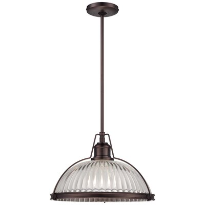 Grayson Pendant Finish: Dark Bronze, Size: 16 Diameter