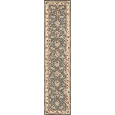 Constance Hand-Tufted Blue Area Rug Rug Size: Runner 23 x 10
