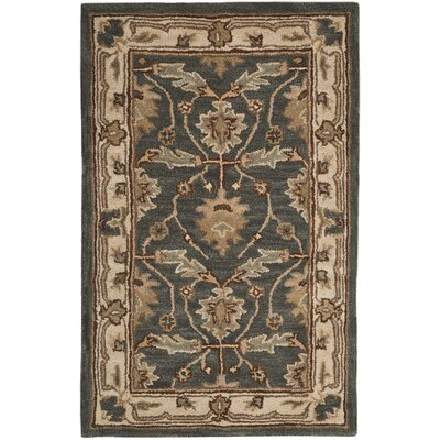 Constance Hand-Tufted Blue Area Rug Rug Size: Rectangle 26 x 4